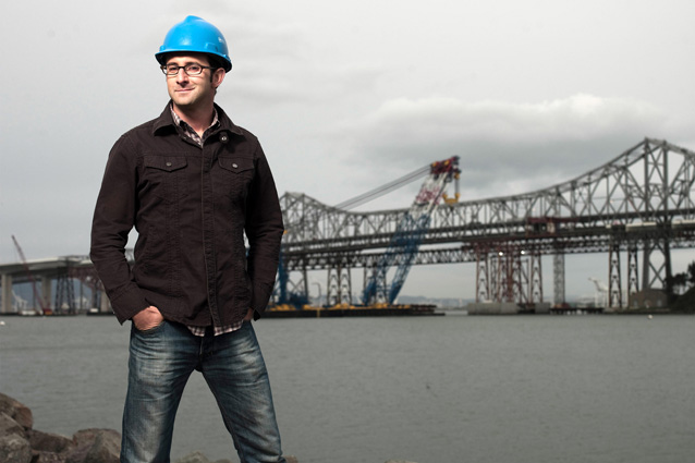 "Danny Forster, host of Discovery Channel's ""Build it Bigger"" and architectural designer, announced as keynote for AVEVA World Summit 2015. Image courtesy of Danny Forster."