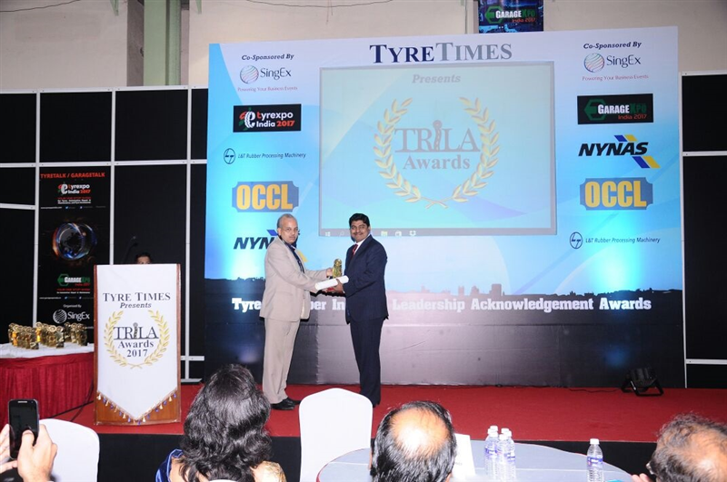 LANXESS India being honoured with the TRILA Awards