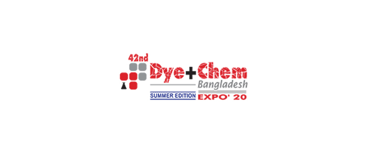42nd Dye+Chem Bangladesh 2020 International Expo