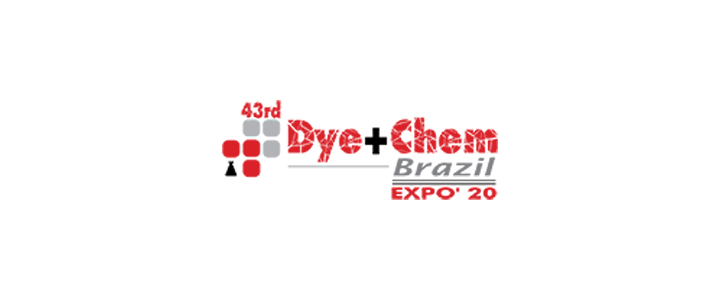 43rd Dye+Chem Brazil 2020 Int'l Expo