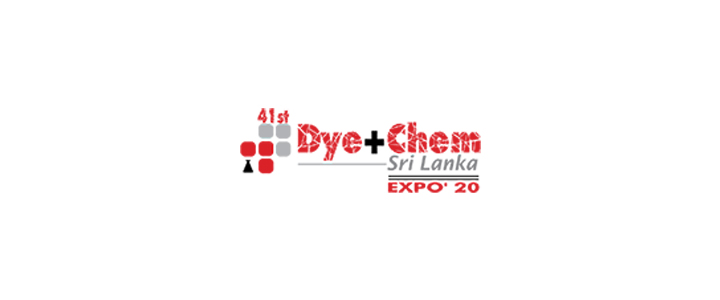 41st Dye+Chem Sri Lanka 2020 International Expo