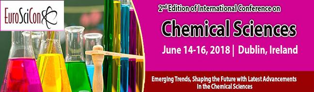 Chemical Sciences 2018 - Dublin Ireland